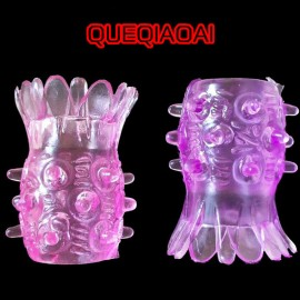 Q0963-14   New Pineapple Penis Ring / Penis Sleeve / Penis Extender / Waterproof Cock Ring / Sex Ring / Sex Toys for Man