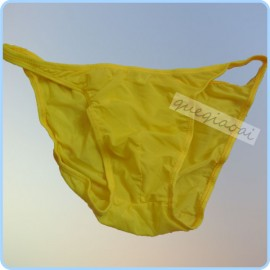 ZZ003 High quality elastic solid yellow manview men's briefs soft and comfortable low waist underwear men
