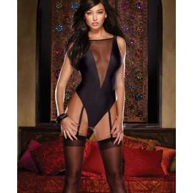 New Arrival Backless Mesh Bodysuit Teddy Body Suits For Women Club Wear underwear suit nightclub essential seduction